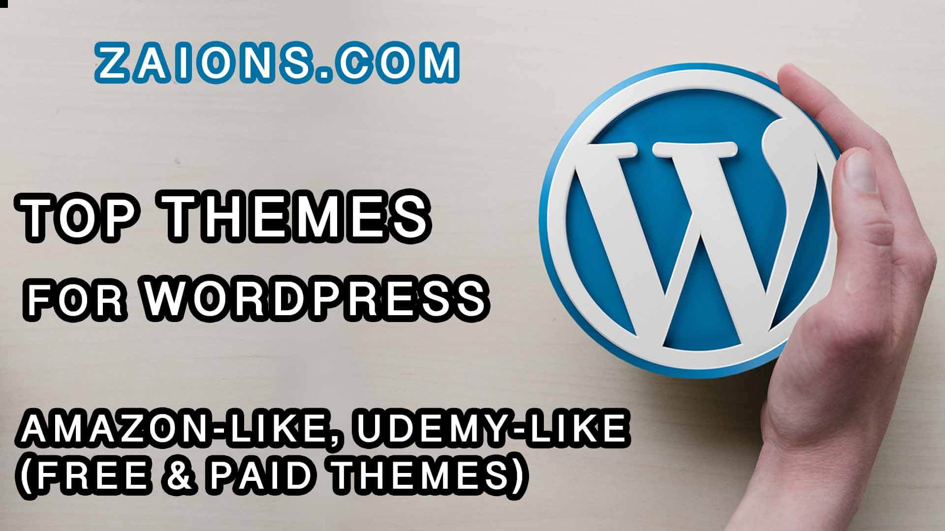 13 Top Themes in WordPress